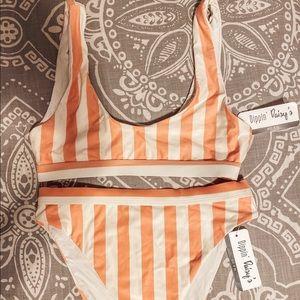 High Rise High Waist Bikini (Bundle top + bottom)